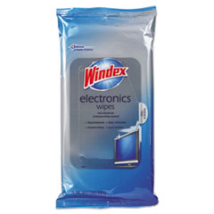 SJN 642517EA Windex Electronics-Cleaner Wipes SJN642517EA