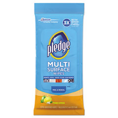SJN 644080EA Pledge Multi-Surface Cleaner Wipes SJN644080EA