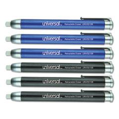 UNV 55106 Universal Pen-Style Retractable Eraser UNV55106
