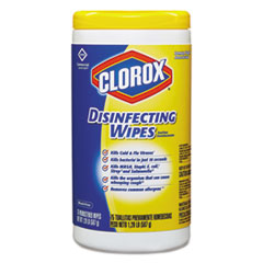 Disinfecting Wipes, 7 x 8,  Lemon Fresh, 75/Canister