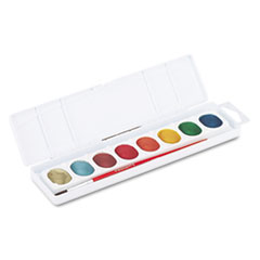DIX 80516 Prang Metallic Washable Watercolors DIX80516