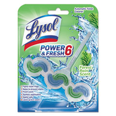 RAC 96083EA LYSOL Brand Power & Fresh 6 Automatic Toilet Bowl Cleaner RAC96083EA