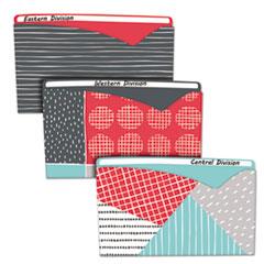 CLI 63540 C-Line Write-On Fashion Poly File Jackets CLI63540