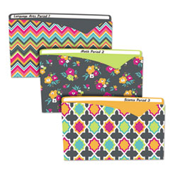 CLI 63550 C-Line Write-On Fashion Poly File Jackets CLI63550