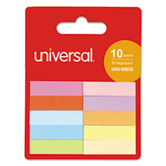 UNV 99026 Universal Self-Stick Page Tabs UNV99026