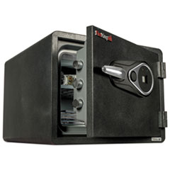 FIR KY09131GRFL Fireking One Hour Fire Safe and Water Resistant with Biometric Fingerprint Lock FIRKY09131GRFL