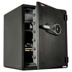 FIR KY19151GRFL Fireking One Hour Fire Safe and Water Resistant with Biometric Fingerprint Lock FIRKY19151GRFL