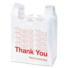 "UNV 63036 Universal Plastic ""Thank You"" Bags UNV63036"