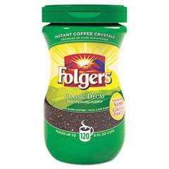 FOL 20630 Folgers Instant Coffee Crystals FOL20630