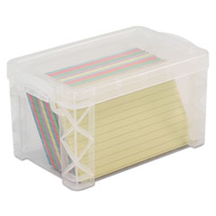 AVT 40307 Advantus Super Stacker Card File Box AVT40307