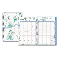BLS 101579 Blue Sky Lindley Weekly/Monthly Wirebound Planner BLS101579
