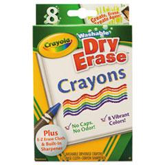 CYO 985200 Crayola Washable Dry Erase Crayons CYO985200