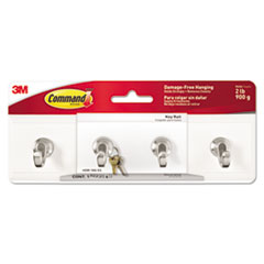 MMM HOM18QES Command Decorative Key Rail MMMHOM18QES