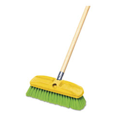 RCP 9B72GRE Rubbermaid Commercial Synthetic-Fill Wash Brush RCP9B72GRE