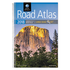 AVT RM52801739X Rand McNally Large Scale Road Atlas AVTRM52801739X