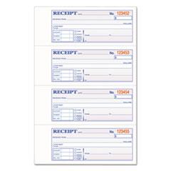 ABF TCH1185 Adams TOPS 3-Part Hardbound Receipt Book ABFTCH1185
