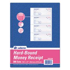 ABF DCH1185 Adams TOPS 2-Part Hardbound Receipt Book ABFDCH1185