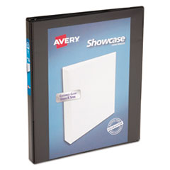 AVE 19550 Avery Showcase Economy View Binder with Round Rings AVE19550