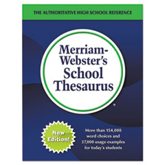 MER 3656 Merriam Webster School Thesaurus MER3656
