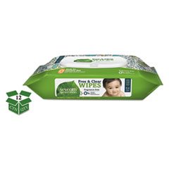 SEV 34208CT Seventh Generation Free & Clear Baby Wipes SEV34208CT