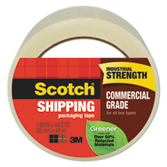 MMM 3750G Scotch Greener Commercial Grade Packaging Tape MMM3750G