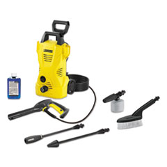 KCR 16023150 Karcher 1,600 PSI 1.25 GPM Compact Electric Pressure Washer with Car Care Kit KCR16023150