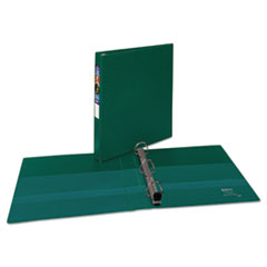 AVE 79789 Avery Heavy-Duty Non-View Binder with DuraHinge and Locking One Touch EZD Rings AVE79789