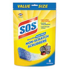 CLO 10005PK S.O.S Non-Scratch Soap Scrubbers CLO10005PK