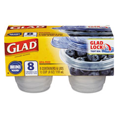 CLO 70240PK Glad Food Storage Containers with Lids CLO70240PK