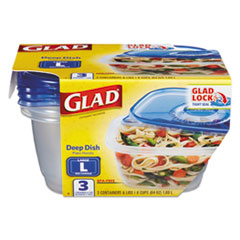 CLO 70045PK Glad Food Storage Containers with Lids CLO70045PK