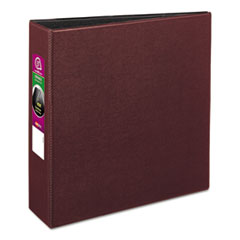 AVE 27652 Avery Durable Non-View Binder with DuraHinge and Slant Rings AVE27652