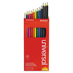 UNV 55324 Universal Woodcase Colored Pencils UNV55324