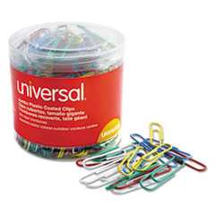UNV 95000 Universal Plastic-Coated Paper Clips UNV95000