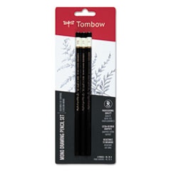 TOM 61001 Tombow Mono Drawing Pencil Set TOM61001