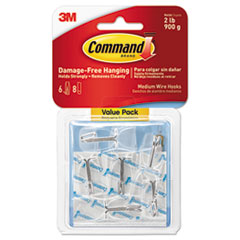 MMM 17065CLRVPES Command Clear Hooks and Strips MMM17065CLRVPES
