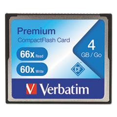 VER 95500 Verbatim Premium CompactFlash Card VER95500