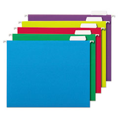 UNV 14121 Universal Deluxe Bright Color Hanging File Folders UNV14121