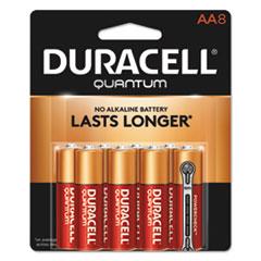 DUR QU1500B8Z Duracell Quantum Alkaline Batteries DURQU1500B8Z