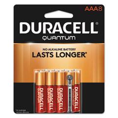 DUR QU2400B8Z Duracell Quantum Alkaline Batteries DURQU2400B8Z