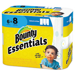PGC 74651 Bounty Essentials Select-A-Size Paper Towels PGC74651