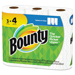 PGC 76225PK Bounty Select-a-Size Paper Towels PGC76225PK