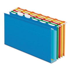 PFX 42702 Pendaflex Ready-Tab Extra Capacity Reinforced Colored Hanging Folders PFX42702