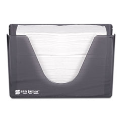 SJM T1720TBK San Jamar Countertop Folded Towel Dispenser SJMT1720TBK