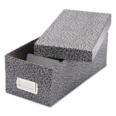 OXF 40588 Oxford Reinforced Board Card File with Lift-Off Cover OXF40588