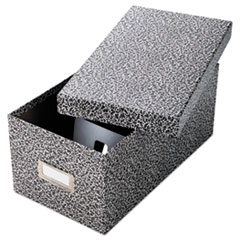 OXF 40589 Oxford Reinforced Board Card File with Lift-Off Cover OXF40589