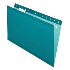 PFX 415315TEA Pendaflex Colored Reinforced Hanging Folders PFX415315TEA