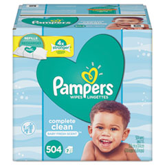 PGC 75473 Pampers Complete Clean Baby Wipes PGC75473