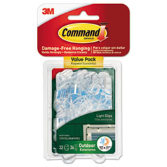 MMM 17017CLRAWVP Command All Weather Hooks and Strips MMM17017CLRAWVP