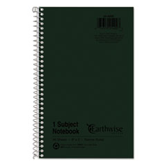 TOP 25400 Oxford Earthwise by Oxford 100% Recycled One-Subject Notebook TOP25400