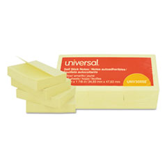 UNV 35662 Universal Self-Stick Note Pads UNV35662